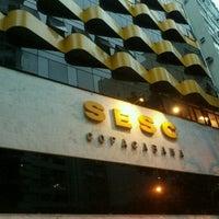 Foto tirada no(a) Hotel Sesc Copacabana por Kleber O. em 10/24/2012