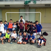 Photo taken at 世田谷区立 三軒茶屋小学校 by Takeshi Y. on 11/2/2014