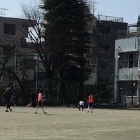 Photo taken at 世田谷区立 三軒茶屋小学校 by Takeshi Y. on 2/28/2016