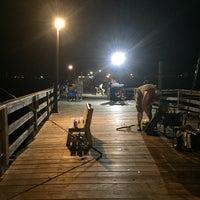 Photo taken at Avon Fishing Pier by Dana C. on 7/10/2017