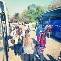 Photo taken at Parking Sava centra by SuperSlon on 4/20/2013