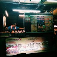 Photo taken at Pos Burger by Sariani S. on 12/27/2015