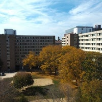 Photo taken at Witte Residence Hall by Joel N. on 11/21/2011