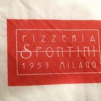 Foto scattata a Pizzeria Spontini da Edoardo Giovanni R. il 2/5/2013