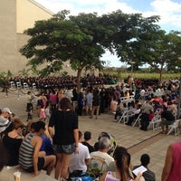 Photo taken at University of Hawaii West Oahu by Dory on 12/15/2013