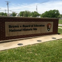 Photo taken at Brown vs. Board of Education National Historic Site by Shaundra J. on 5/15/2013