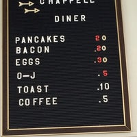 Photo taken at The Chappell Diner by Scott C. on 4/19/2014