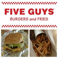 Photo taken at Five Guys by Steven (Sanchez) on 1/24/2013