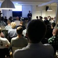 Photo taken at Tradeshift by Rasmus G. on 10/25/2012