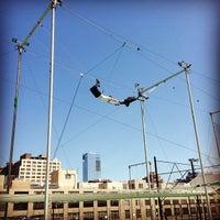 Photo taken at Trapeze School New York by Joshua J. on 4/21/2013
