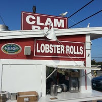 Photo taken at The Clam Bar by Ish on 6/2/2013