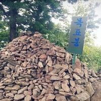 Photo taken at 목표봉 by ChongWoo L. on 9/28/2014