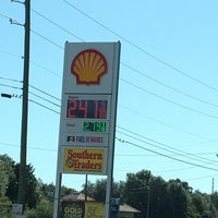 Photo taken at Shell by Carol on 10/25/2017