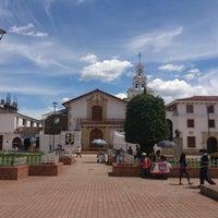 Photo taken at Parque Julio Florez by Guillermo E. on 11/3/2012