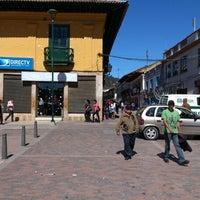 Photo taken at Parque Julio Florez by Guillermo E. on 12/22/2012