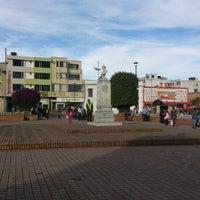 Photo taken at Parque Julio Florez by Guillermo E. on 9/29/2012