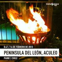 Photo taken at Peninsula del León, Aculeo by Alfredo E. on 2/16/2013