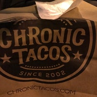 Photo taken at Chronic Tacos by JD S. on 8/11/2017