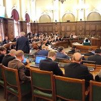 Photo taken at Latvijas Republikas Saeima  |  Saeima of the Republic of Latvia by Viesturs S. on 4/18/2013