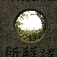 Photo taken at 上野山 福祥寺(須磨寺) by JUNKO on 4/23/2013
