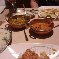 Photo taken at Gandhi India's Cuisine by DJ (Sarumaru) M. on 5/9/2014