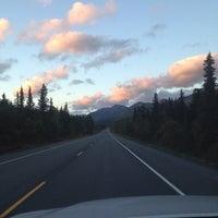 Photo taken at Summit Lake Lodge by Kelsey S. on 9/7/2014