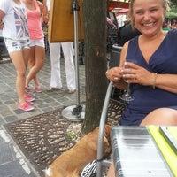 Photo taken at L'Ovale Café by Evalien R. on 7/28/2013