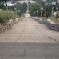 Снимок сделан в Большая Митридатская лестница пользователем Vladislava B. 7/19/2014