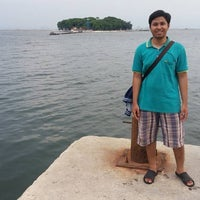 Photo taken at Pulau Onrust by Haris F. on 3/25/2016