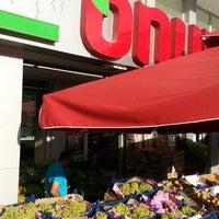 Photo taken at Onur Market by Sezer İ. on 8/1/2013