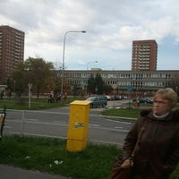 Photo taken at Poliklinika (tram, bus) by Mistr F. on 11/7/2013
