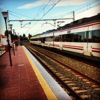 Photo taken at Cercanías El Pinillo by Naicu on 10/12/2012