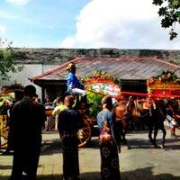 Photo taken at Bangsal Srimanganti Kraton Yogyakarta by Debin D. on 10/23/2013