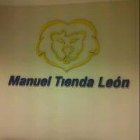 Photo taken at Manuel Tienda León by Ornella C. on 11/3/2012