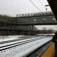 Photo taken at Newark Liberty Airport Station (Amtrak/NJT) by Roy E. on 12/29/2012