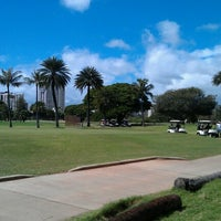 Photo taken at Ala Wai Golf Course by Robert P. on 2/6/2013