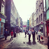 Photo taken at Carnaby Street by Fritz-Joël M. on 9/28/2012