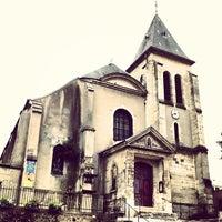 Photo taken at Église de Pantin by Fritz-Joël M. on 6/23/2013