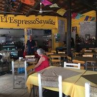 Photo taken at Cafe El Expresso Sayulita by Ken P. on 11/13/2016