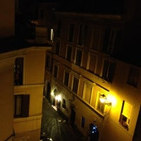 Photo taken at Rione XIII - Trastevere by Maya L. on 10/3/2012