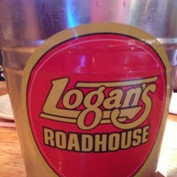 Photo taken at Logan's Roadhouse by Cindy B. on 10/13/2012