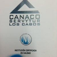 Photo taken at Canaco Servytur Los Cabos by Gabriel L. on 7/24/2013