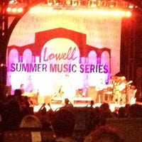 Photo taken at lowell summer music series! by Brian B. on 8/4/2013