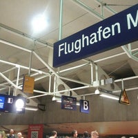 Photo taken at S Flughafen München by けー on 7/5/2015