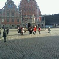 Photo taken at Strēlnieku laukums by Alex S. on 3/24/2013