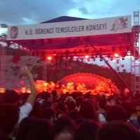Photo taken at Hacettepe Üniversitesi Amfi Tiyatrosu by Hanife E. on 5/21/2015
