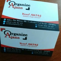 Photo taken at Organize ajans by Yusuf A. on 4/25/2015