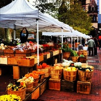 Photo taken at Copley Square Farmer's Market by Laura H. on 10/19/2012