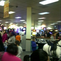 Photo taken at Chuck E. Cheese's by Lainey C. on 1/26/2013