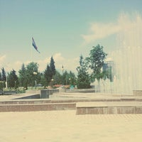 Photo taken at Парк Рудаки / Rudaki Park by Mehtap Nur Ö. on 5/18/2015